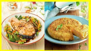 Comidas y recetas ligeras El cuerpo necesita que lo alimentes con comidas en las que no se tenga que esforzar demasiado para digerirlas ni para absorber