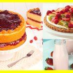 Postres con fresa para Diabéticos