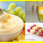Postres de melón y melocotón para Diabéticos