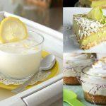 Mousse de limón parta Diabéticos