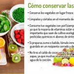 ¿Como conservar las vitaminas en los alimentos?