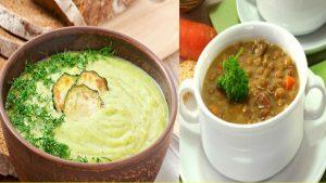 Sopas para diabéticos Las sopas forman parte de una dieta variada, nutritiva y equilibrada. El ingrediente base principal es el agua, y por ello los caldos