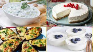 4 Recetas con Yogurt Se cree que los lácteos dentro de la cadena alimenticia son los alimentos que aportan más calorías y grasas a nuestro organismo