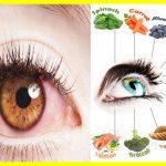 Enfermedades oculares y las mejores dietas