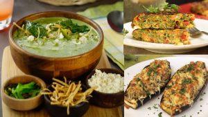 3 recetas vegetarianas distintas, incluye las 3 recetas Cada vez se vuelve más usual el estilo de vida vegetariano no solo como protección a los animales