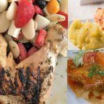 Almuerzos Con Pallares y Pollo Para Diabéticos