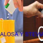 Sucralosa y Stevia ¿cual es la diferencia?
