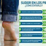 Hiperhidrosis: Sudoración en los pies ¿QUE HACER?