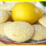 Galletas de limón sin azúcar Para Diabéticos
