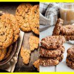 Galletas de avena y frutos secos sin azúcar