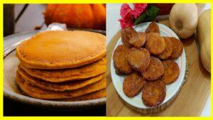 Tortillas de calabaza sin azúcar Son muchas las recetas sencillas que podemos elaborar para tener un desayuno balanceado o incluso para calma