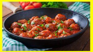 Albóndigas de avena y queso en salsa picante Reducir el consumo de carnes, sobre todo de carnes rojas, es una las vías para controlar el peso