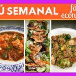 Menú Semanal Fácil y Economico