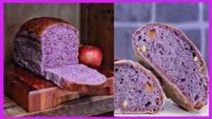 Pan de maíz morado para diabéticos tipo 2 Hoy les presentamos un delicioso pan para ese fin de semana con un toque de maíz morado super delic
