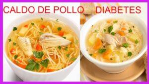 Caldo de pollo para diabéticos El pollo de por si alimenta y aportar vitaminas importantes para mantener la diabetes a raya aparte de sus mine